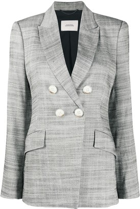 Dorothee Schumacher Structured Ambition double breasted blazer