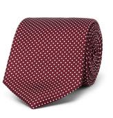 Drake's - 9cm Polka-dot Silk-faille Tie