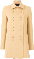 Talie Nk - double breasted coat - women - Polyester/Spandex/Elastane/Viscose - 36