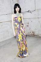 CONTEMPORARY Printed Strapless Dress