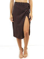 West Coast Wardrobe First Impressions Skirt in Black