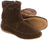 Old Friend Peace Mocs by Madison Mid Moccasins - Suede (For Women)