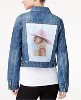 Bravado Lady Gaga Joanne Tour Juniors' Graphic Denim Jacket