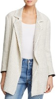 Theory Clairene Open-Front Tweed Jacket