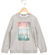 Bonpoint Boys' Palm Tree Print Pullover Sweatshirt