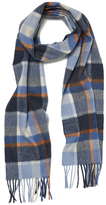 Barbour Country Plaid Scarf Arctic