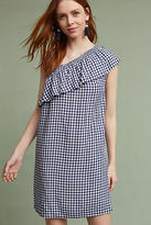 Velvet by Graham & Spencer Emmeline One-Shoulder Gingham Tunic Dress