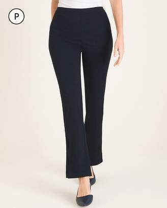 Travelers Collection Petite Side-Slit Crepe Pants