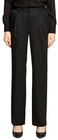 Brooks Brothers Lucia Fit Wool Gabardine Trousers