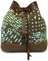 Vivienne Westwood Canvas Leather Backpack