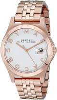 Marc Jacobs Marc by Women's MBM3392 Rose Gold-Tone Bracelet Watch