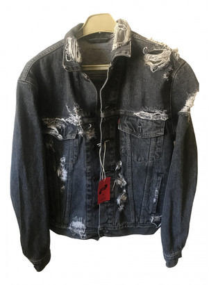 Levi's Grey Denim - Jeans Jackets