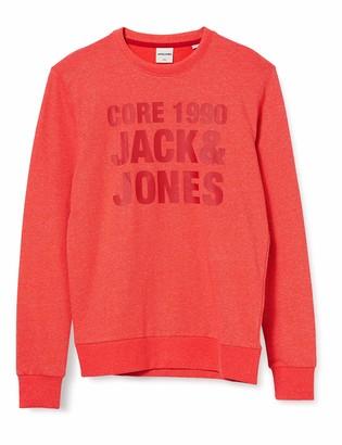 Jack and Jones Men's JCOHUKE Sweat Crew Neck Sweatshirt