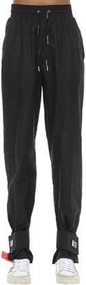 Off-White Off White Nylon Track Pants