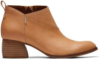Toms Honey Leather Women's Leilani Booties