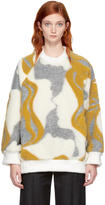 Chloé Multicolor Mirrored Face Sweater