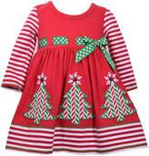 Bonnie Jean Christmas Tree Dress - Toddler Girls