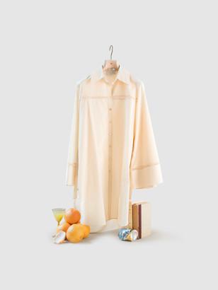 Arjé The Elsa Mini Cotton Silk Shirt Dress