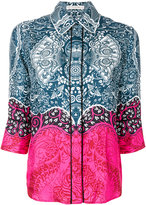 Mary Katrantzou printed straight fit shirt