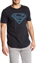 Kinetix Superman Geometric Crew Neck Tee
