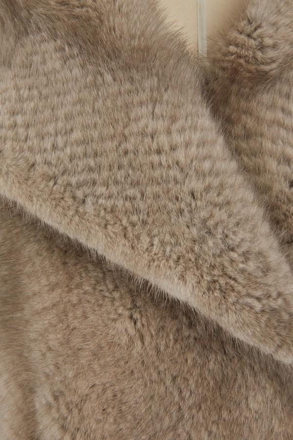 Yves Salomon Mink fur coat