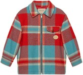 Thumbnail for your product : Gucci Children's check wool jacket