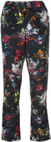 Tomas Maier cropped floral print trousers