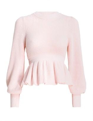 Zimmermann Peplum Sweater