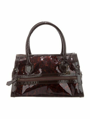 Christian Louboutin Patent Leather Handle Bag Brass
