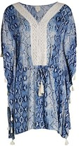 Thumbnail for your product : Surf.Gypsy Snake-Print Beach Coverup