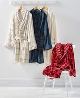 Martha Stewart Collection Plush Bath Robe, Created for Macy's Bedding