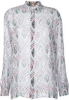 Giambattista Valli geometric printed shirt