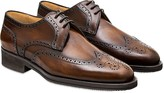 Pakerson Timber Italian Handmade Calfskin Lace-Up Shoes
