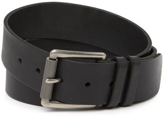 Frye Leather Double Keeper Belt