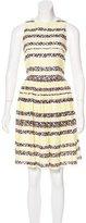 MSGM Sleeveless Lace Dress