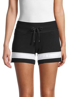 Blanc Noir Jump Drawstring Shorts