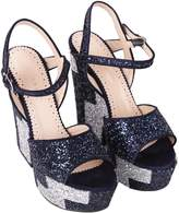 Twin-Set TwinSet Glitter Wedge Sandals