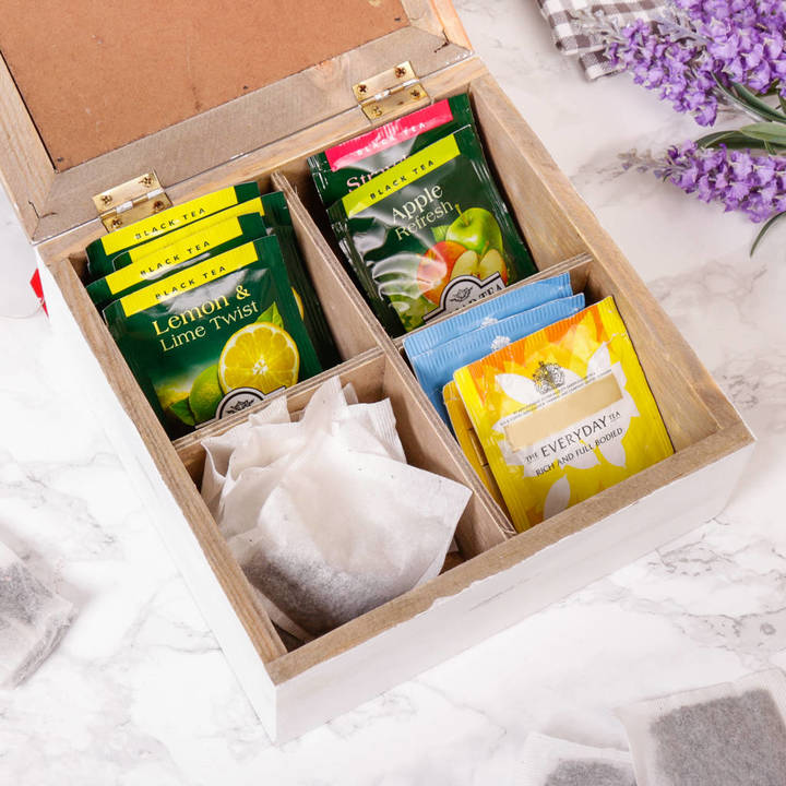 Dibor Bistrot De Paris Tea Storage Box