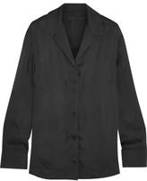 Alexander Wang Satin Shirt - Black