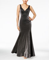 Xscape Evenings Metallic Trumpet Gown