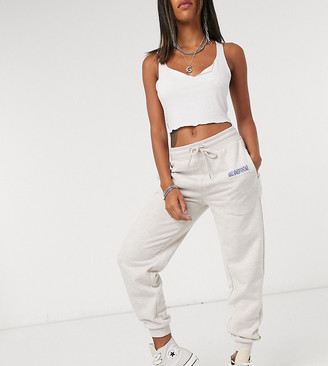 Reclaimed Vintage inspired oversized sweatpants in gray
