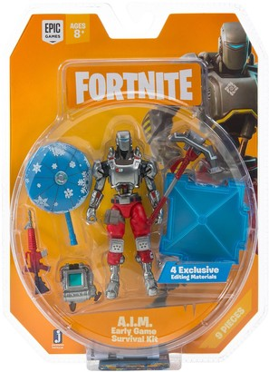 Fortnite Early Game Survival Kit 1-Figure Pack A.I.M.