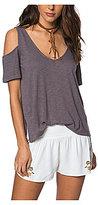 O'Neill Katrina Cold Shoulder Knit Top