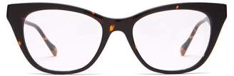 Le Specs Chimera Cat-eye Acetate Glasses - Womens - Tortoiseshell