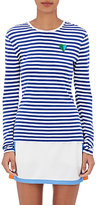 Tory Sport Women's Striped Cotton-Blend T-Shirt
