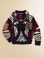 Ralph Lauren Toddler's & Little Girl's Shawl Collar Cardigan