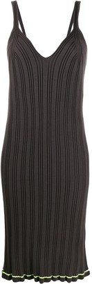 MM6 MAISON MARGIELA Ribbed Midi Dress