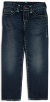 True Religion Boys' Ricky Super T Stitched Straight Jeans - Sizes 2T-7