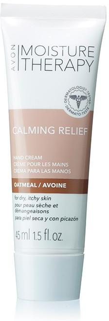 Avon Moisture Therapy Calming Relief Soothing Oatmeal Mini Hand Cream