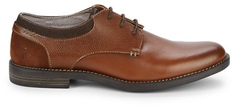 Original Penguin Winston Cognac Leather Oxfords